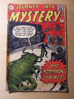 JOURNEY INTO MYSTERY No. 82 MARVEL COMICS SILVER AGE