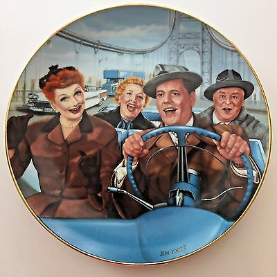 California Here We Come I LOVE LUCY Official Collector Collection Plate