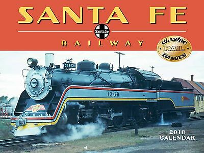 Santa Fe Railway - 2018 Wall Calendar - Brand New - Classic Train 1898