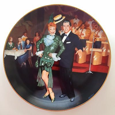 Night At The Copa I LOVE LUCY Official Collector Hamilton Collection Plate