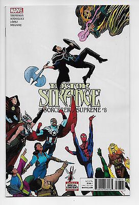 Doctor Strange and the Sorcerers Supreme #8 (Marvel, 2017) - New/Unread (NM)
