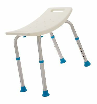 AQUASENSE Adjustable Bath and Shower Chair with Non-Slip Seat ...