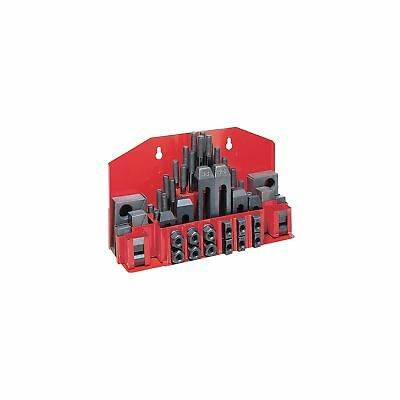 JET CK-38 52-Piece Clamping Kit with Tray for 1/2-Inch T-slot