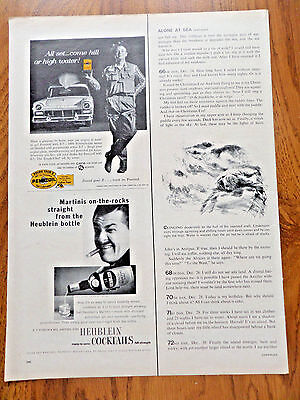 1957 Pennzoil Oil Ad  Ford