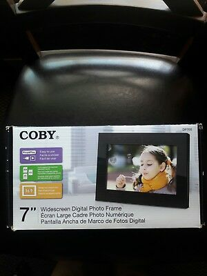 "Coby 7"" Widescreen Digital Photo Frame"