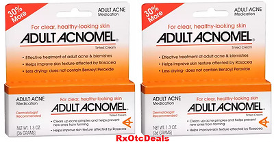 Acnomel Adult Acne Medication Cream - 1.3oz ( 2 pack ) Free Shipping