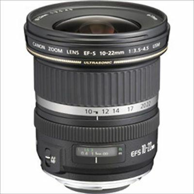 Canon Ultra Wide Lens EF-S10-22mm F3.5-4.5 USM from Japan New