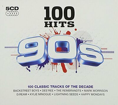 Various Artists - 100 Hits: 90s - Various Artists CD SCVG The Fast Free Shipping