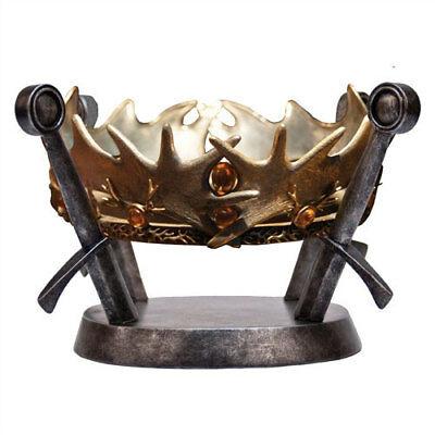 Game of Thrones Royal Crown of King Baratheon Replica NEW Factory Entertainment