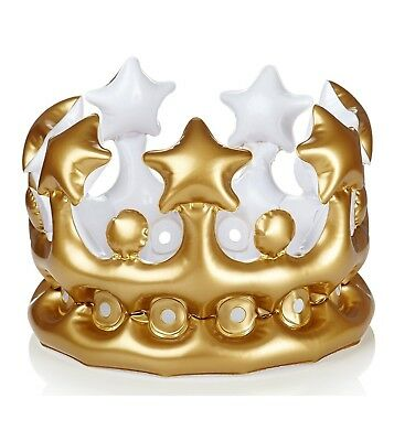 Npw Inflatable Crown King For The Day