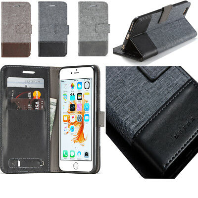 Cloth Art Adsorption Leather Magnetic Card Slot Wallet Flip TPU Case For Phones