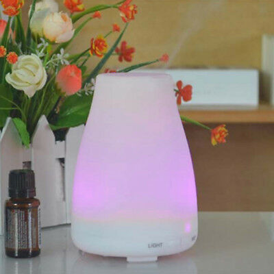 LED Essential Oil Humidifier Air Aroma Purifier Ultrasonic Aroma Diffuser Quiet