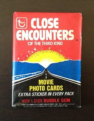 "1978 Topps ""Close Encounters of the Third Kind"" - Wax Pack (Smooooth n' Juicy)"