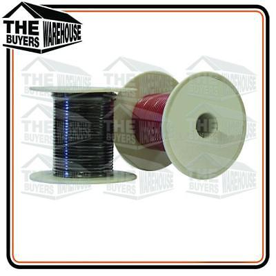 Wire 3Mm Trade Single Core Automotive Wiring Cable 20M Black & Red Spool