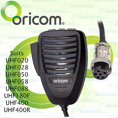 New Oricom Mic028 Uhf Cb Microphone Replacement Mic For Uhf050 Uhf058 Radios