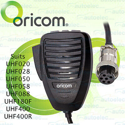 New Oricom Mic050 Uhf Cb Microphone Replacement Mic For Uhf400 Uhf400R Radios