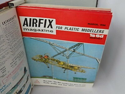 1966~Collection Of Airfix Magazines~In Binder