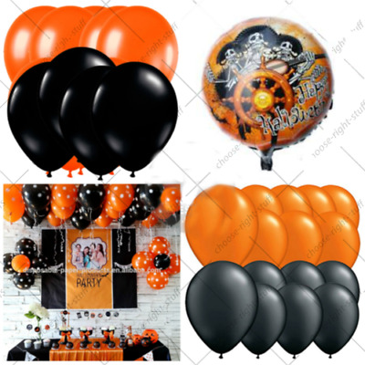 100 X Large Halloween Party Balloons Latex High Quality ballon haloween Theam
