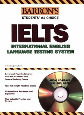 Barrons IELTS with Audio CD: International Englis