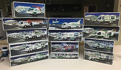 HESS Truck Lot of 13 - From 1994-2010 - New in Box (NIB) See List, All Different