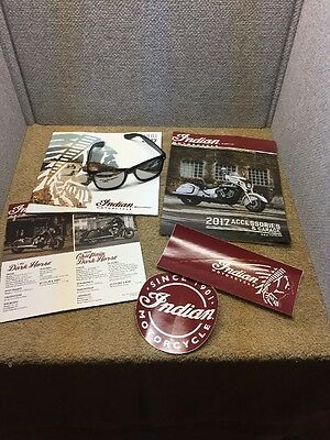 1901 - 2017 Indian Motorcycle Catalogs,parts,sun Glasses,stickers !!