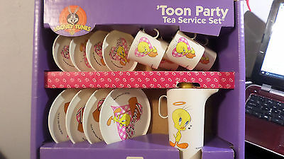 Looney Tunes Tweety Collectible Toy Dishes By Chilton