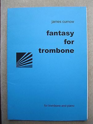 James Curnow Fantasy for Trombone (bass and treble clef) & piano  *NEW* Winwood