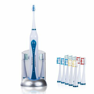 Health HP-STX High Power Sonic Electric Toothbrush with Dock Charger & 10 Heads