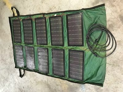Military Solar Panel, used by USMC & SOCOM