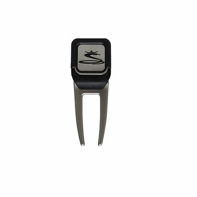 New 2016 Cobra Golf Divot Repair Tool with Ball Marker COLOR: Black with Gray
