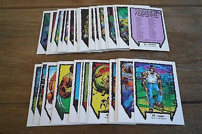 Marvel Comic Images - Wolverine Series 1 - 1991 Nr Mint! Pick The Cards You Need