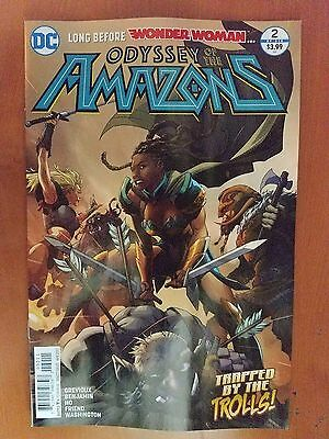 Odyssey of the Amazons # 2 DC Universe Rebirth (1st Print)