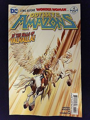 Odyssey of the Amazons # 4 DC Universe Rebirth (1st Print)