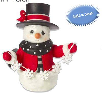 Precious Moments Christmas Annual Snowman Figure New 2017 171015