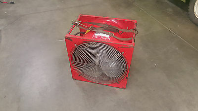 "Super Vac 16"" Electric Exhaust Fan with EXPLOSION PROOF Option - Free Shipping!"
