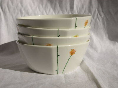 """Set of 4 Aynsley """"Daisy Chain""""  cereal bowls"""
