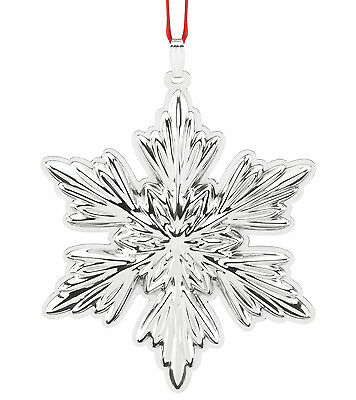 Sterling Silver Holiday Snowflake Ornament 2016 by Reed & Barton