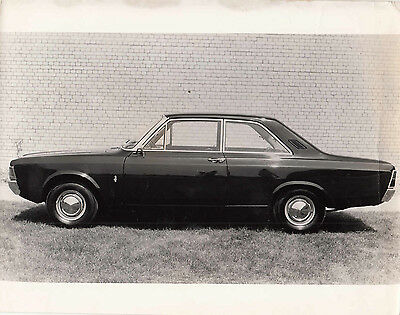 Ford Taunus 17M Two Door Saloon Circa 1969 Model, Photograph.