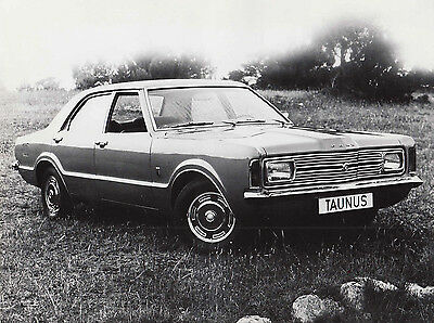 Ford Taunus  Four Door Saloon Period Photo Ford Motor Company Switzerland Stamp