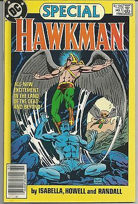 Hawkman Special #1 (1986, DC) Hawkman Vs. The Gentleman Ghost