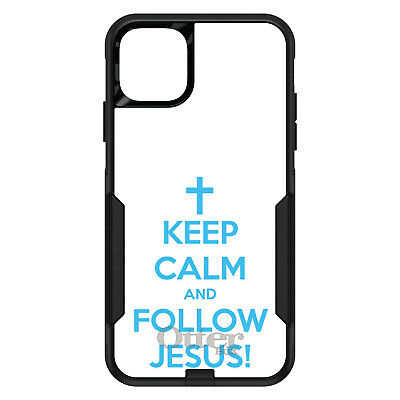 OtterBox Commuter for iPhone 7 8 Plus X XS Max XR Keep Calm and Follow Jesus