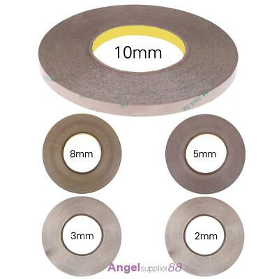1//2//3//5//6//10//12mm Sticky Double Sided Adhesive Tape 50M Cell Phone Repair Supply