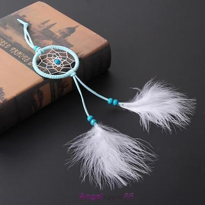 Small Feather Handmade Dream Catcher Car Wall Door Hanging Decoration Ornaments