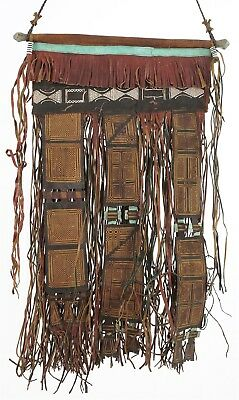 Old African Tuareg leather tent decoration Sahara Niger Mali West Africa
