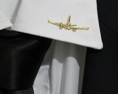 Pin Airbus A320 Head-On Profile Pin Gold for Pilots Crew