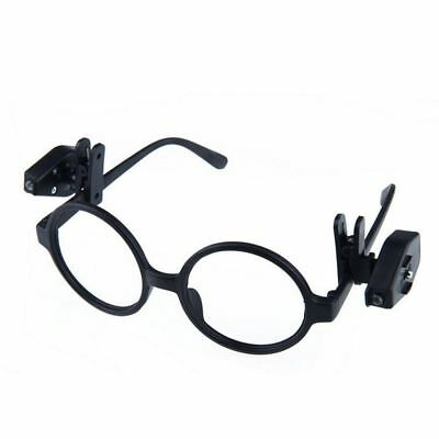 Clip On Night Lamp Universal Rotate Reading Light Book Lights LED Eyeglass