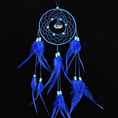 Dream Catcher with Feathers Car Wall Hanging Decoration Ornament Craft Gift WB