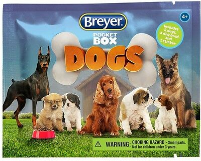 BREYER POCKET BOX DOGS - Blind Bags - Brand New Never opened