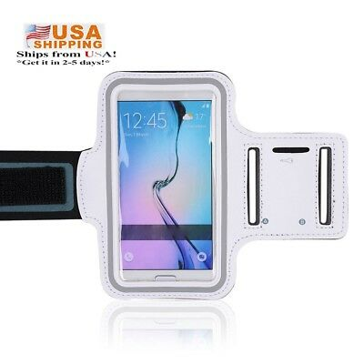 Samsung note4 Sport soft hiking Running Gym Armband Case Holder Cover-US Stock