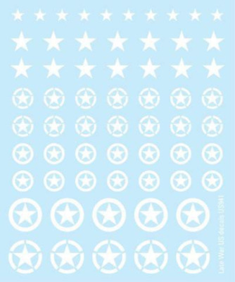 USA: American Decals, Waterslide Transfers